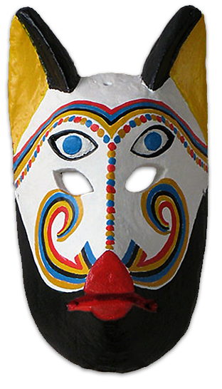 animal masks for the morenos dance la danza de los morenos
