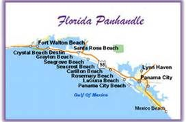 Map of Florida Panhandle Islands - want to visit these too ...