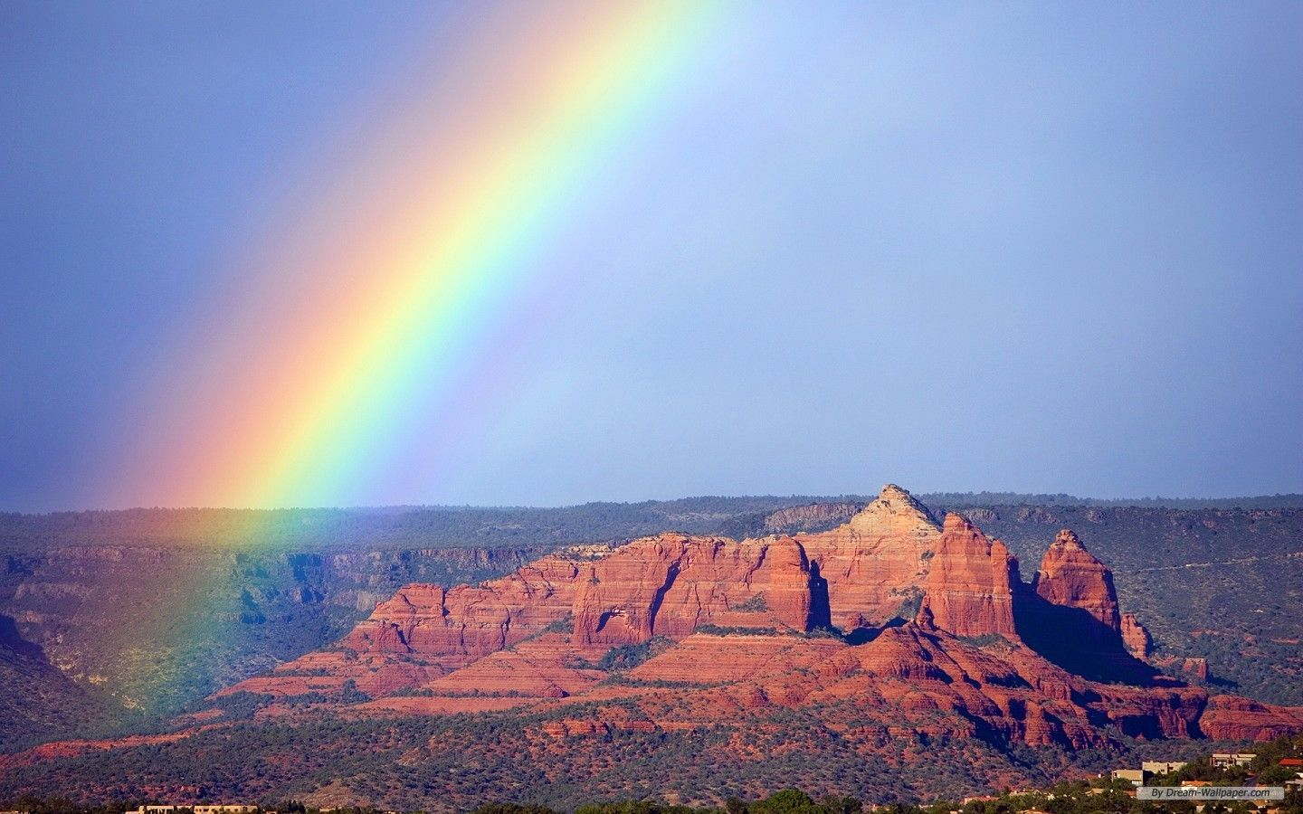scenic pictures of rainbows free nature wallpaper