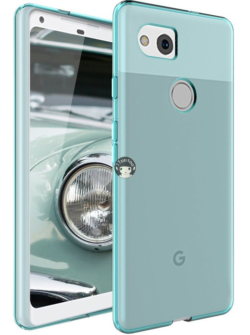 brand new 68235 1fee4 Gloss Soft Gel Slim TPU Silicone Case Skin Cover of Blue For Google ...