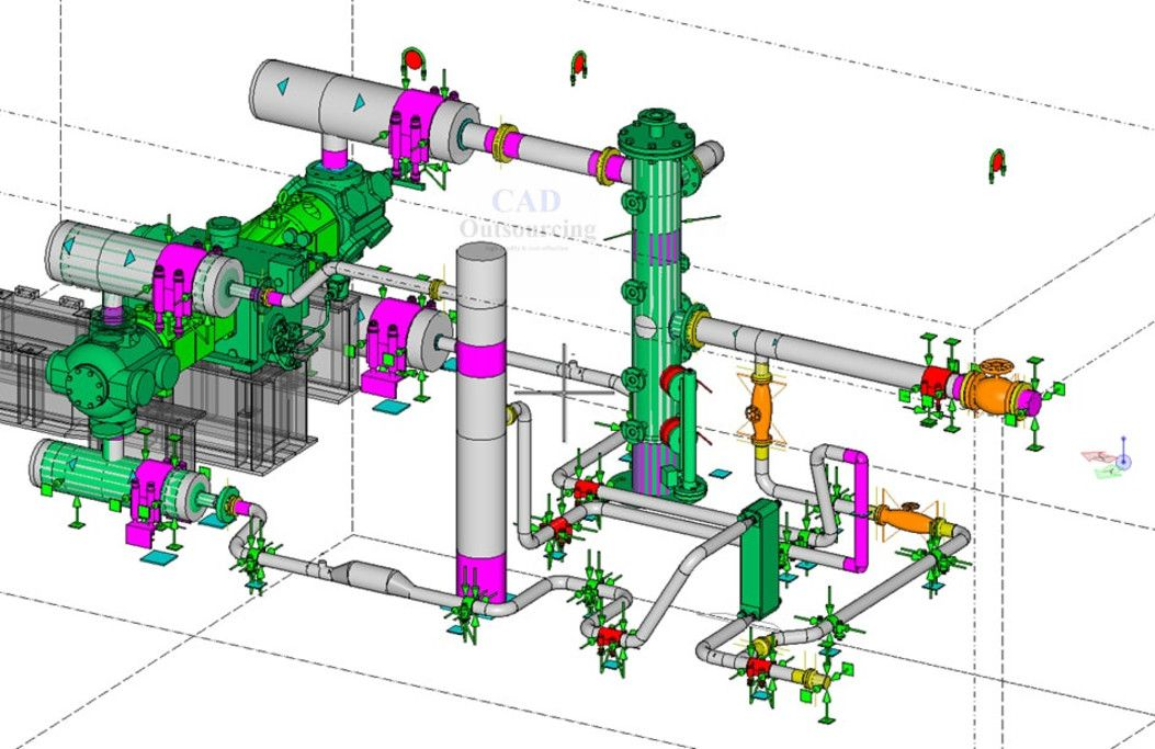 Pin On Plumbing Piping Services Cad Outsourcing