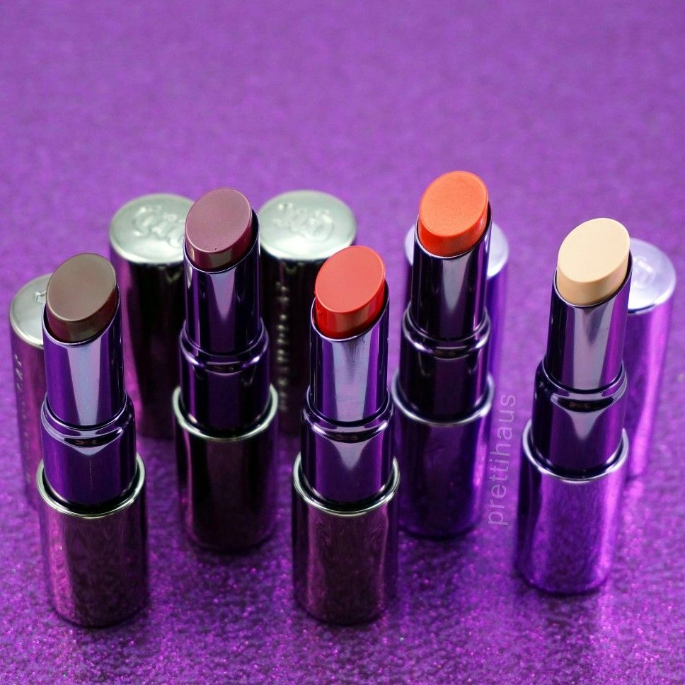 Urban Decay Revolution HighColor Lipsticks (With images