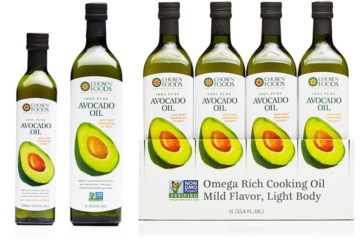 Avocado Oil Chosen Foods Chosen Foods Branding Design Packaging Avocado Oil