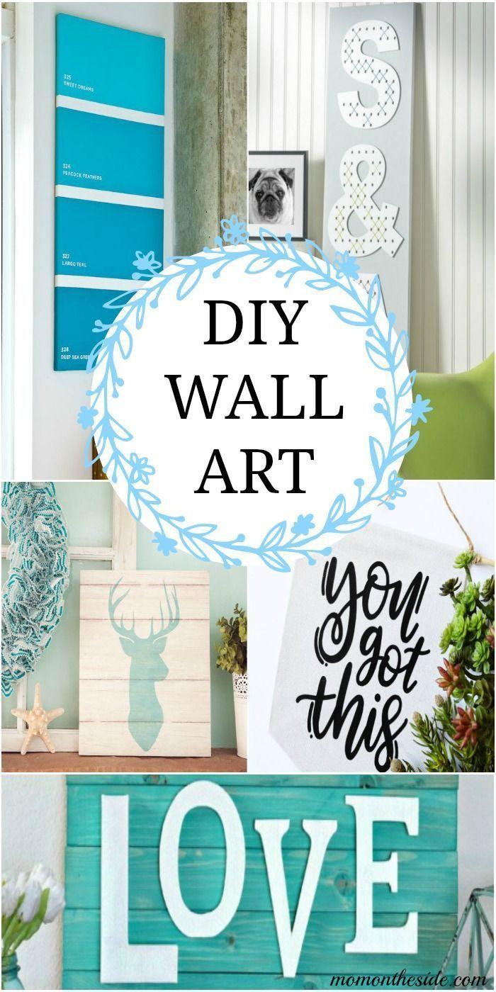 15 Fabulous DIY Wall Art Ideas You Can Create Yourself | Pinterest ...