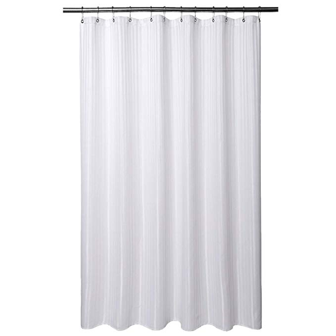 Amazon.com: Barossa Design Fabric Shower Curtain 80 Inches