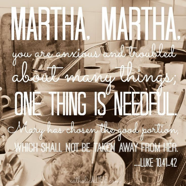 Decluttering: A Little Less Martha and a Little More Mary – Let Them Eat Crayons     #declutter#mariekondo#konmari#40bags40days#eatcrayons  www.letthemeatcrayons.com