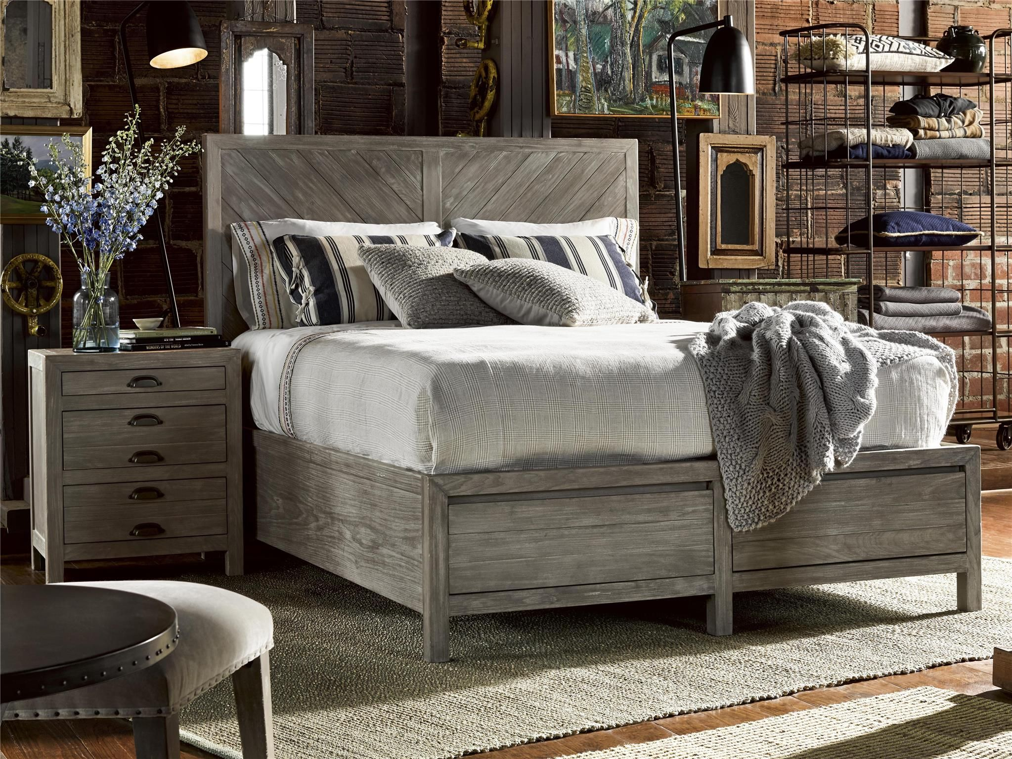 Universal Furniture Curated Biscayne Bed (King) (With