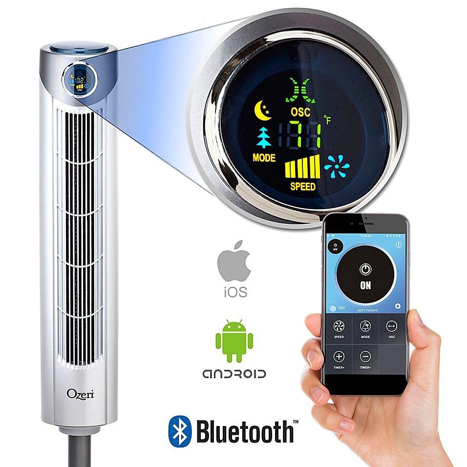 Ozeri® Ultra 42Inch Oscillating Bluetooth Tower Fan