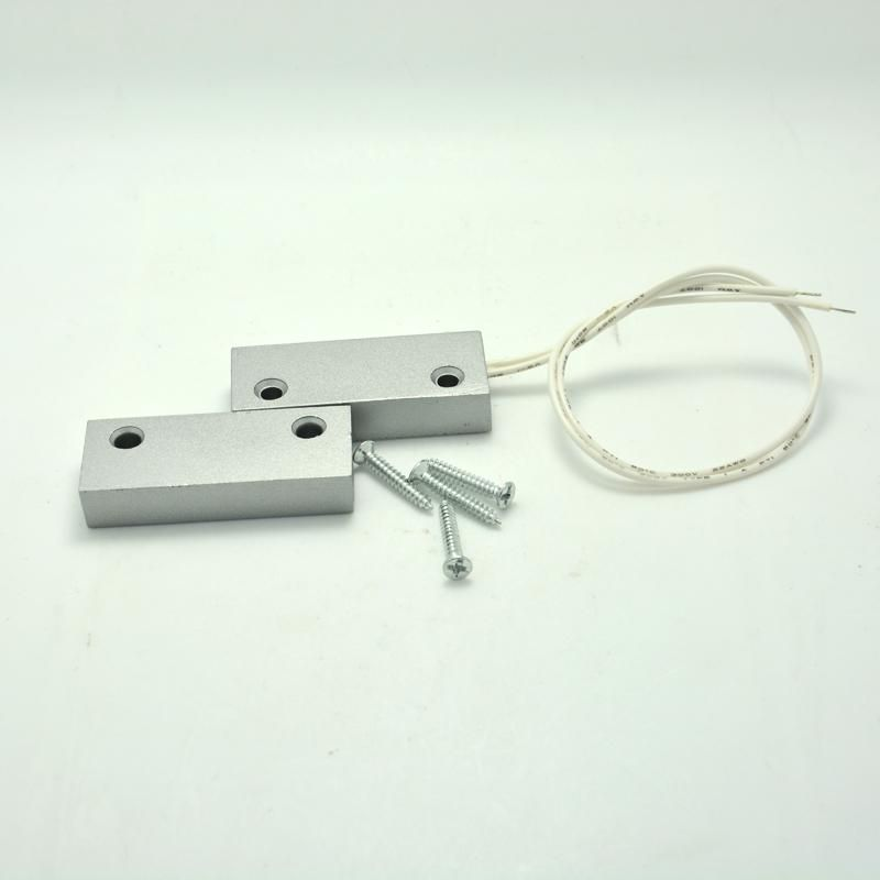 1pair Free Shipping Wired Magnetic Door Sensor Window Alarm Nc