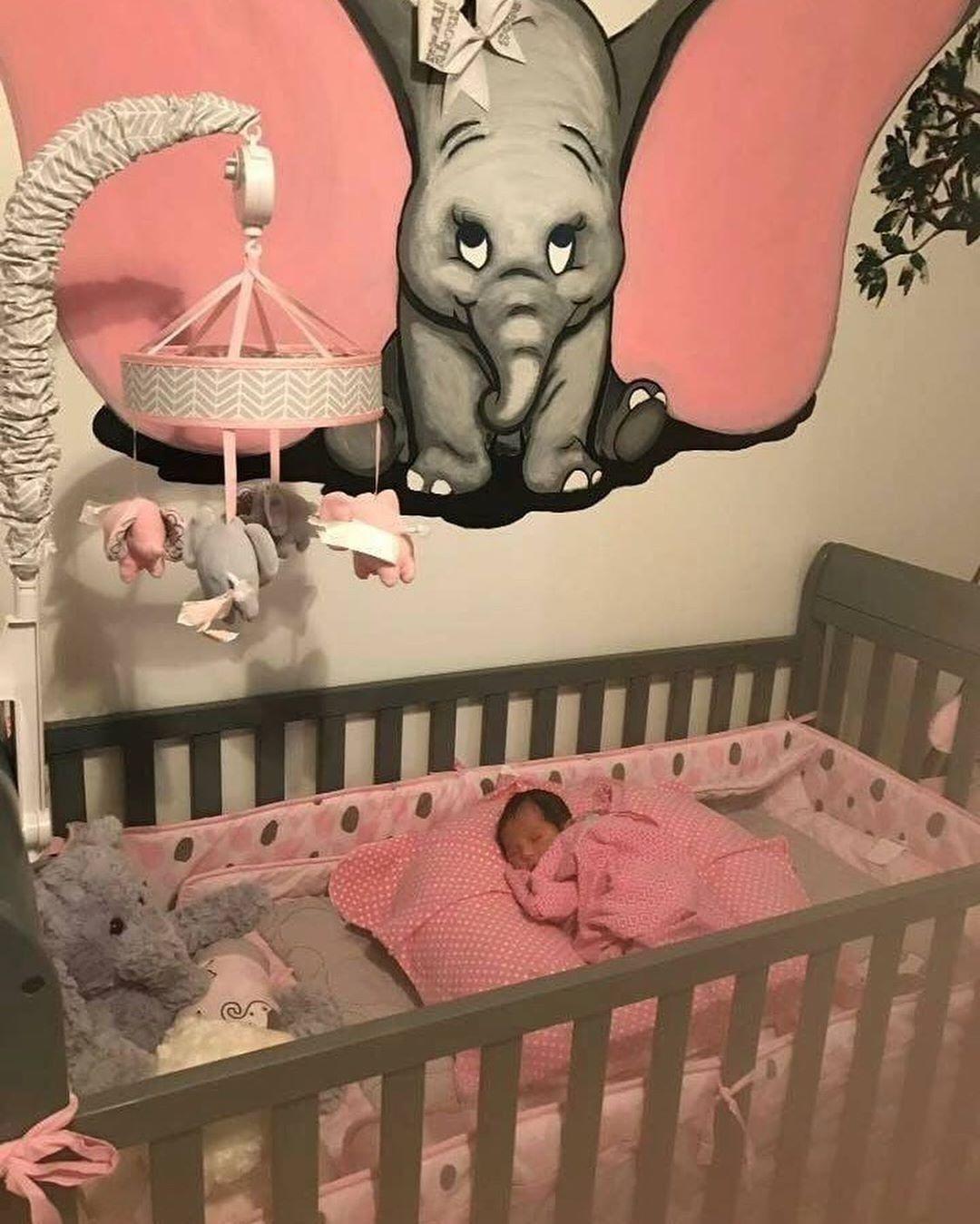 Pin by Yollande Balle on Kids bedroom  Baby girl nursery pink