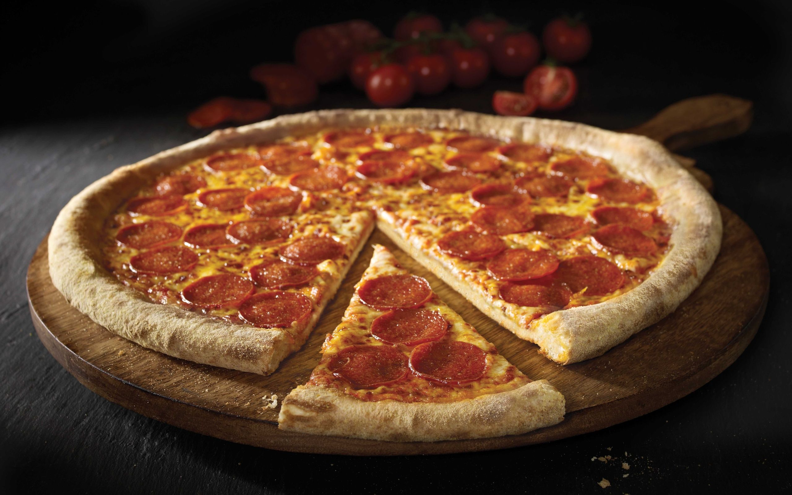 pepperoni pizza wallpapers full hd amazing wallpapers