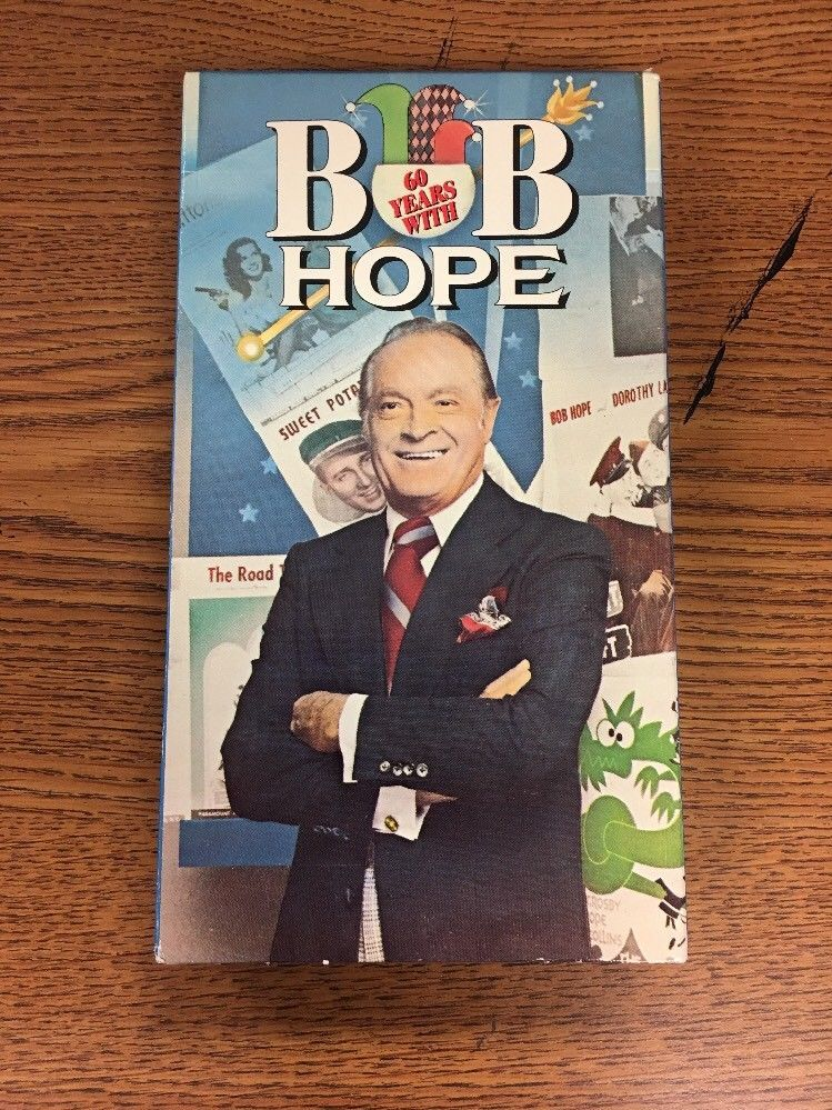 60 Years With Bob Hope (VHS) Dorothy Lamour, Bing Crosby