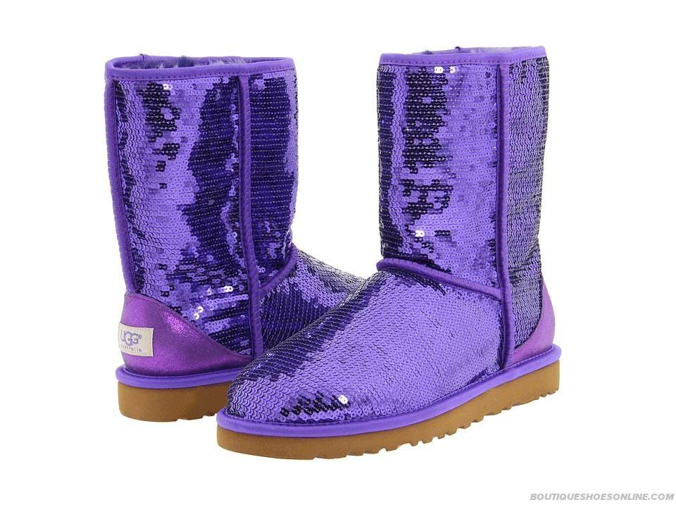 BOTTES ugg Classic Haute Violet