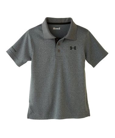 327773f54 Another great find on  zulily! Carbon Heather Match Play Polo ...