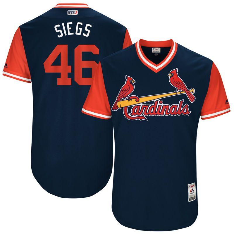 "Kevin Siegrist ""Siegs"" St. Louis Cardinals Majestic 2017"