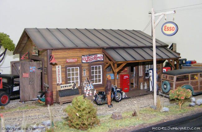 From Our Readers Victor Ortiz S 1 43 And 1 12 Scale Dioramas Diorama Model Train Scenery Ho Scale Buildings
