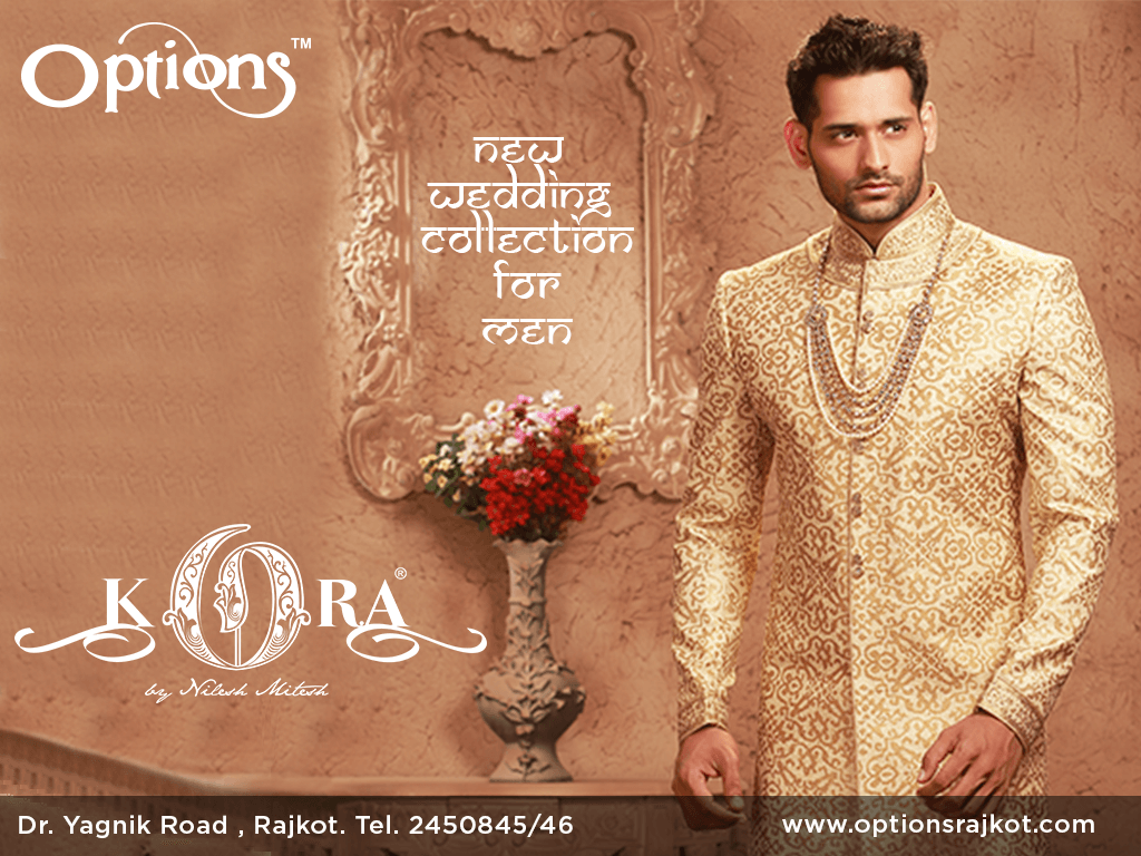 b8089eeb2e0 New Wedding Collection for Man available at Options.  collection  wedding   weddingdress  traditional  clothing