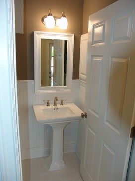 Powder Room Beadboard Design Ideas Pictures Remodel And Decor
