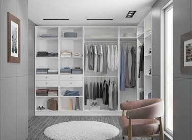 Dressing sur mesure et placards à prix mini closet space