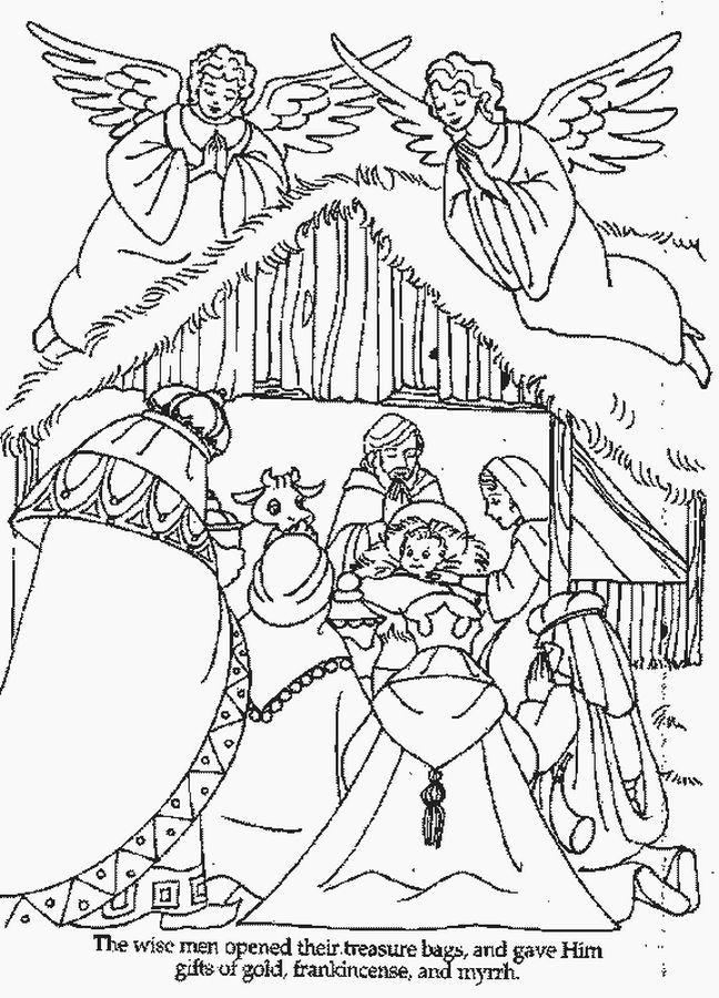 Schön Maria Und Baby Jesus Malvorlagen Zeitgenössisch - Druckbare ...
