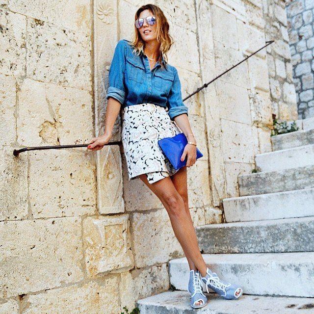 #MyEmpiricalLife explores Croatia in a SUNO skirt.