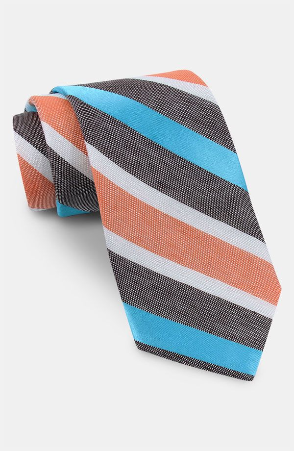 73e0d79395d0 Coral + turquoise ties This could be fun!   Chase   Coral tie, Linen ...