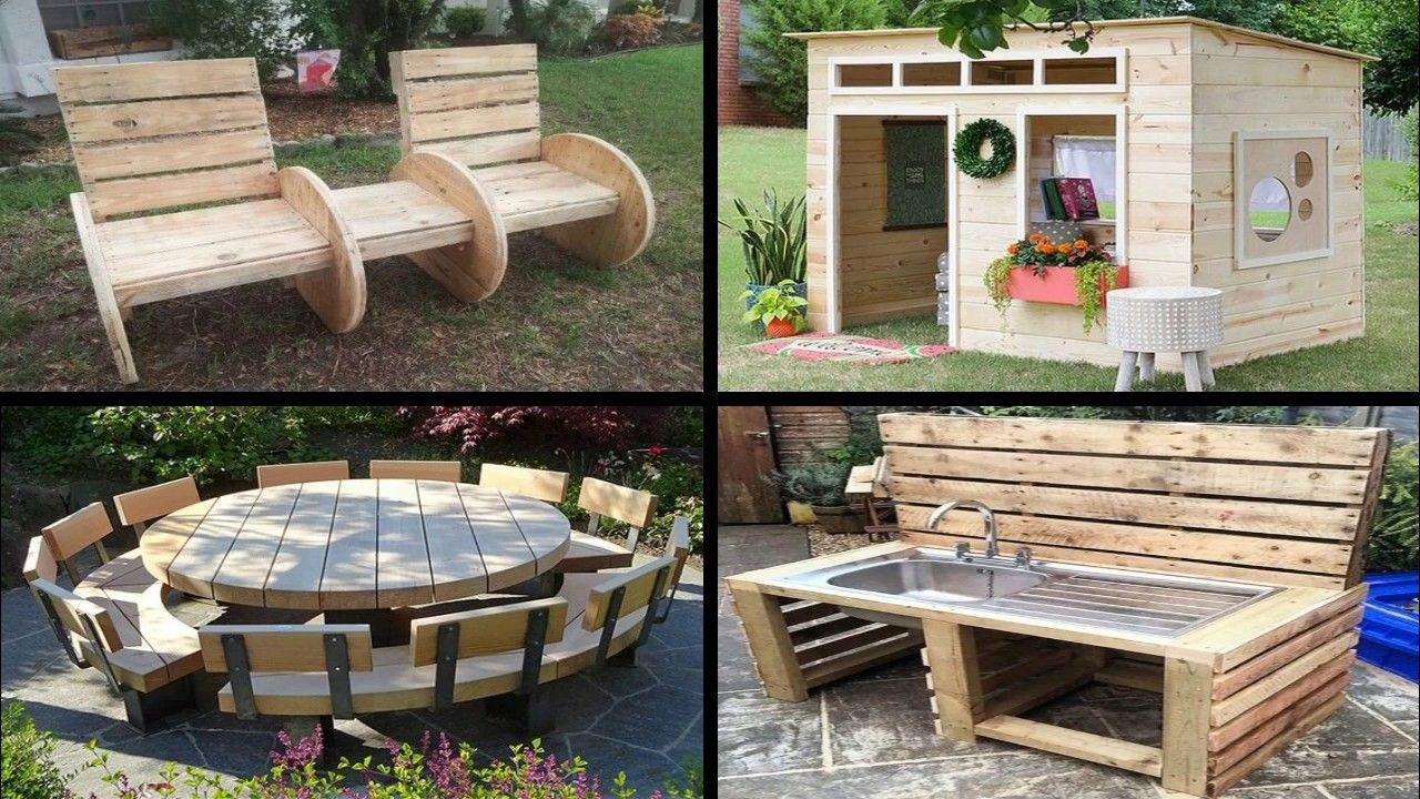 50 Awesome Diy Pallet Furniture Ideas Youtube Pallet Diy Diy