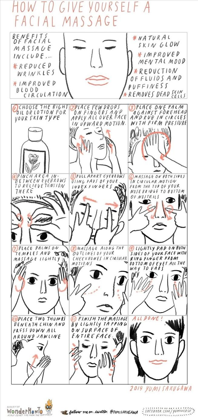 Rejuvenate your face how to give yourself a facial massage for rejuvenate your face how to give yourself a facial massage for natural glowing skin solutioingenieria Images