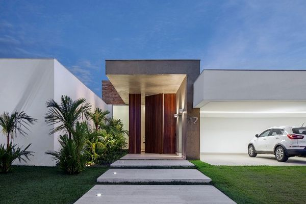 Awesome Elegant And Functionally Designed TB House In Brazil Great Pictures
