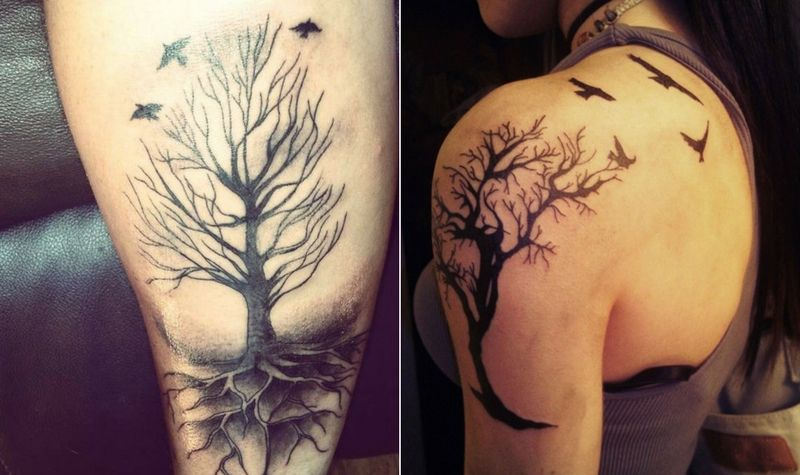Tree Of Life Tattoo Sleeve Designs And Ideas 2017 Collection