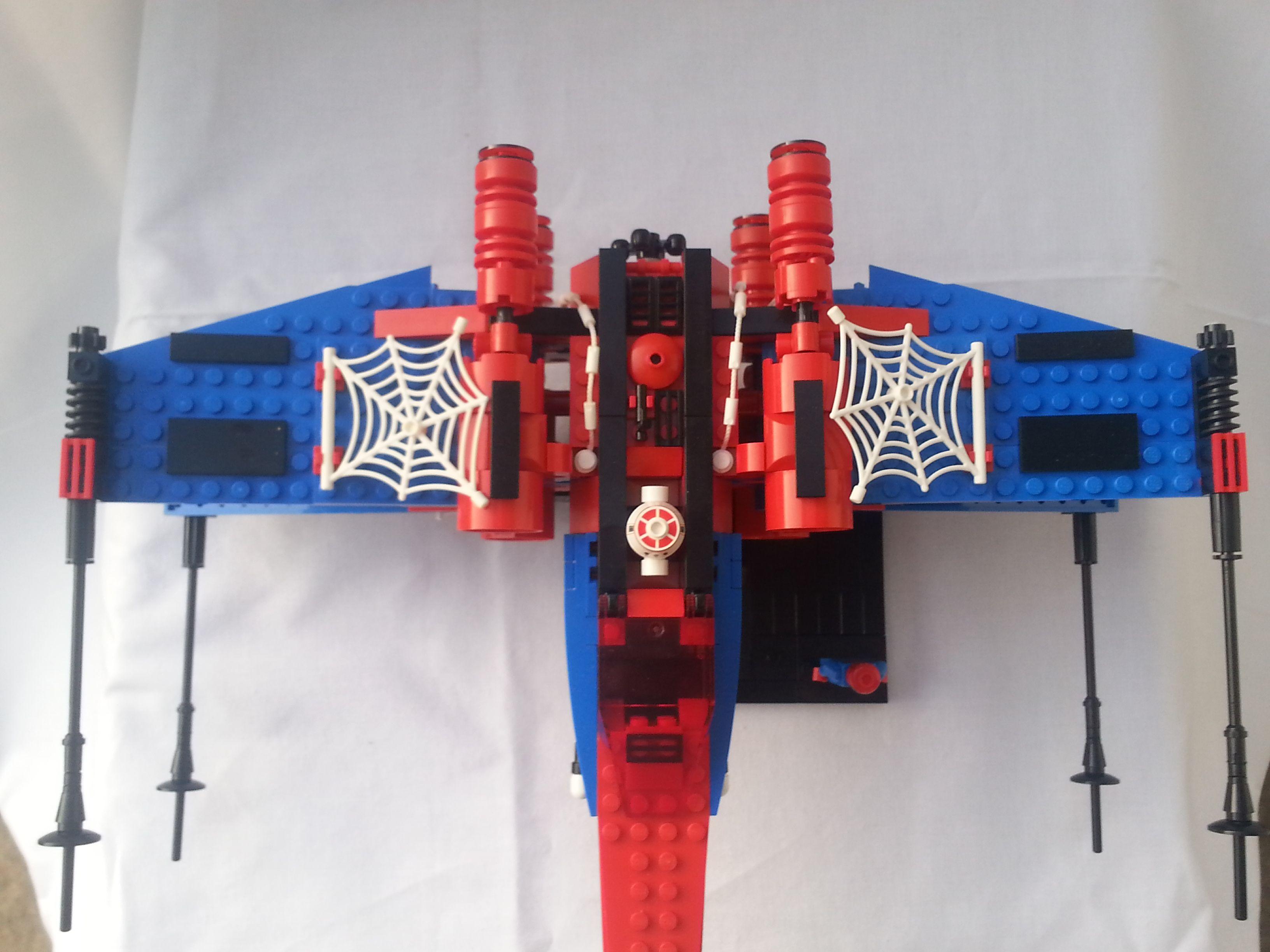 Lego Spiderman Malvorlagen Star Wars 1 Lego Spiderman: LEGO Spider-man X-Wing MOC