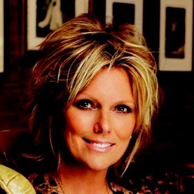 Patti Hansen- I love her cut and color! | Cute Hair Ideas ...