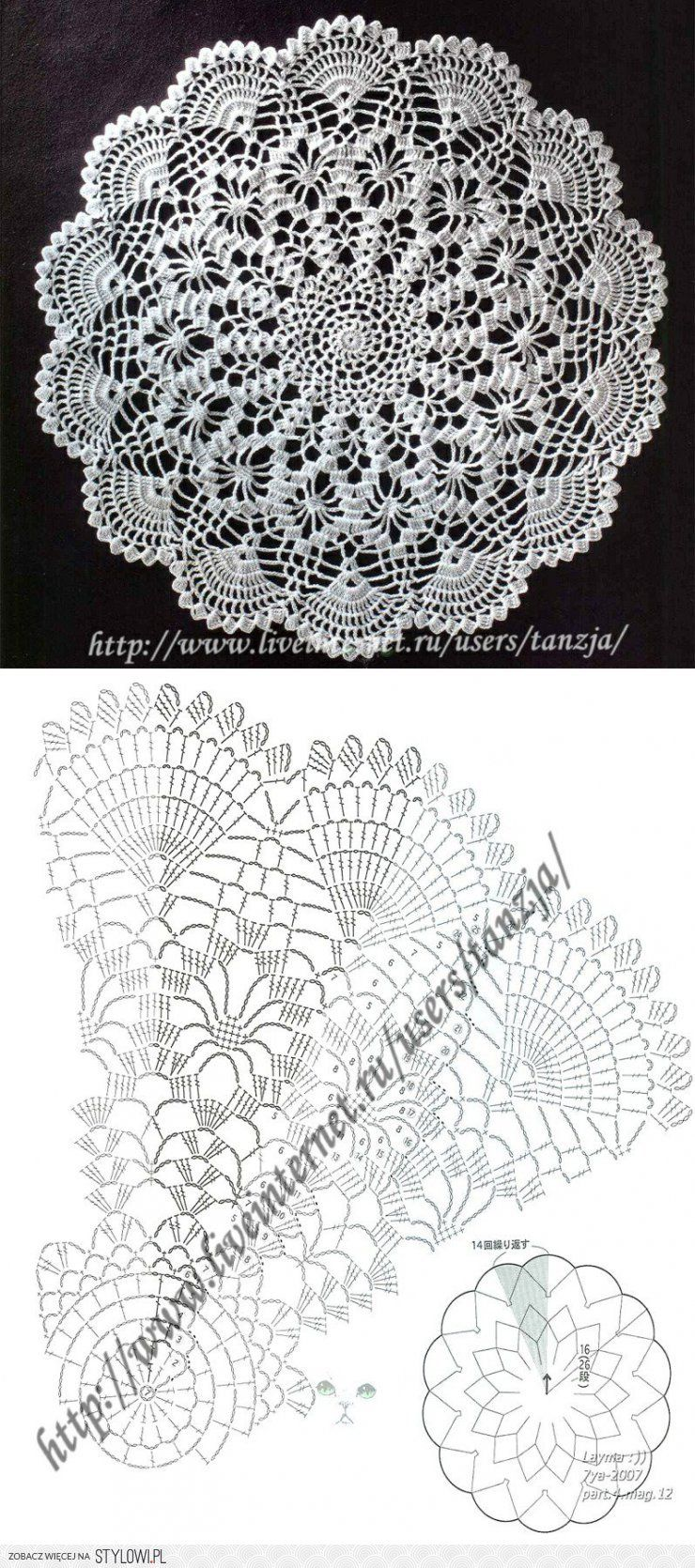 crochet lace ...♥ Deniz ♥ … | Pinteres…