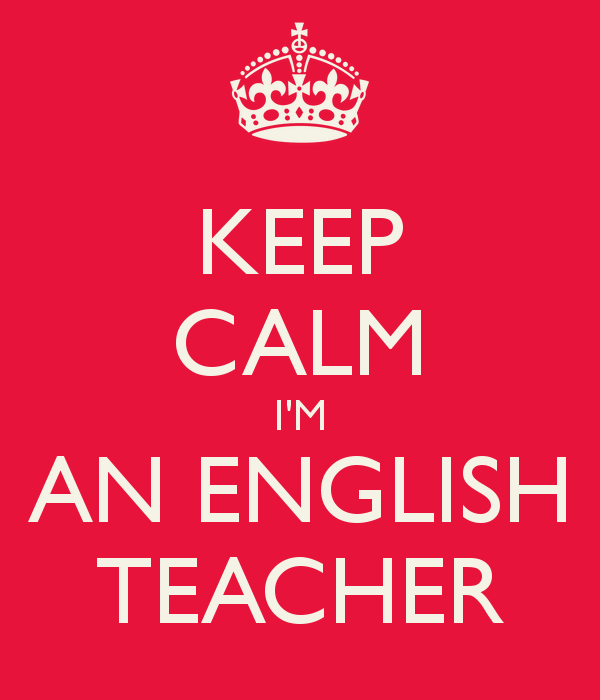 I'm an English teacher | Keep Calm | Pinterest | English, Keep ...