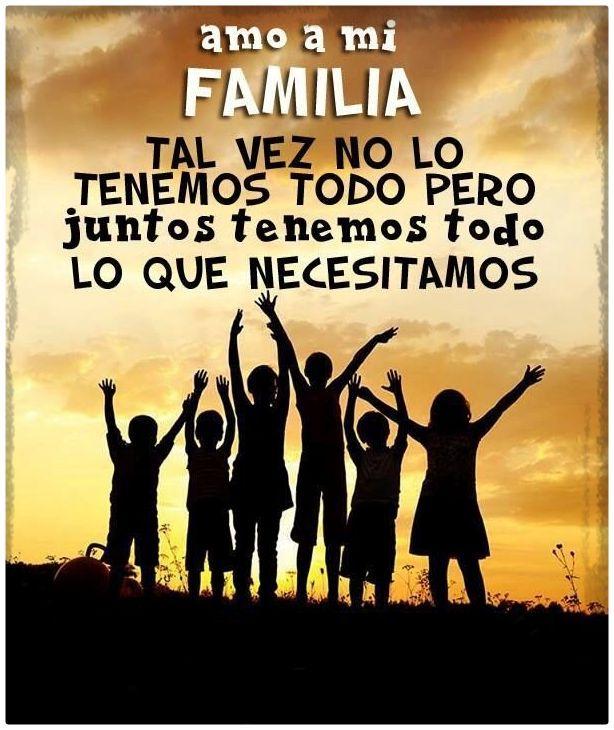Imagenes De La Familia Con Frases 1 Imagenes De Familia Unida Imagenes De Familia Frases De Amor Familia