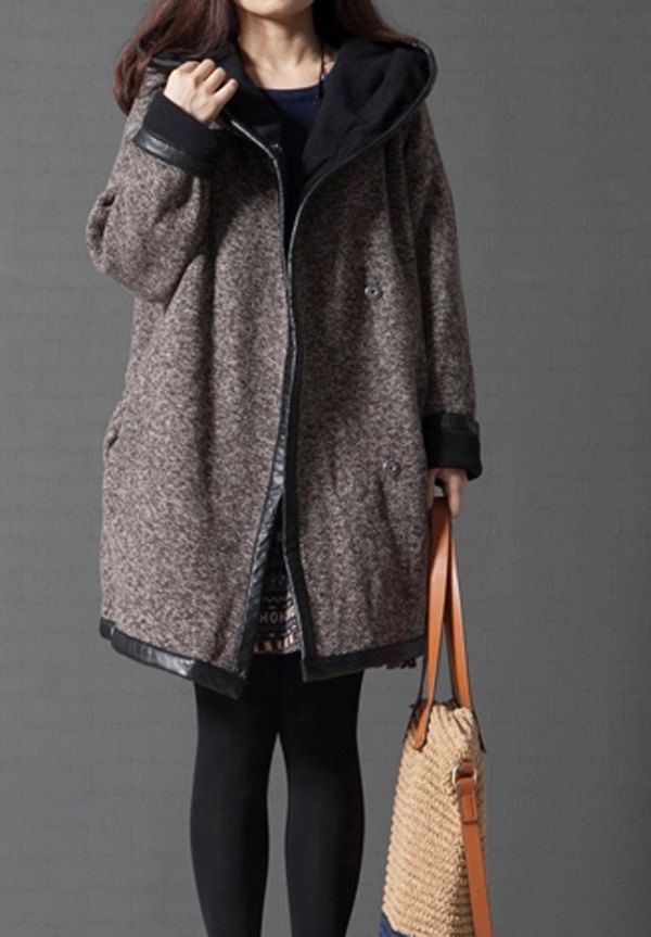 Manteau femme hiver oversize