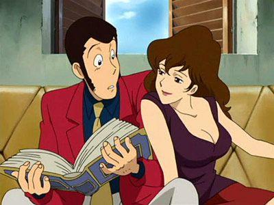 Margot and lupin cartoon manga anime personaggi anime e cartoni
