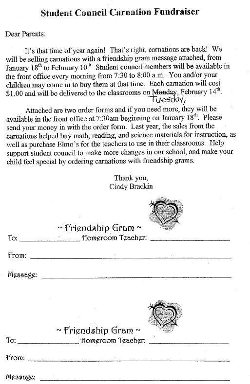 CARNATION FUNDRAISER Fundraiser ideas Pinterest Carnation - tattoo consent forms