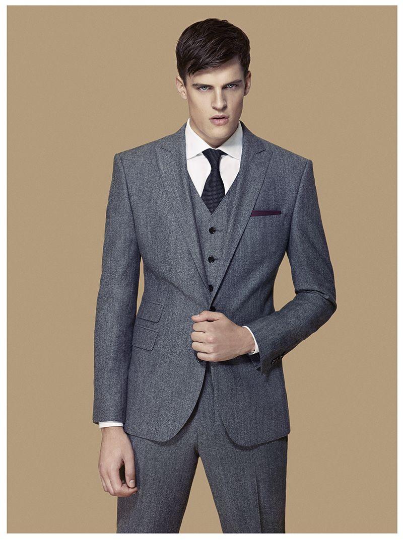 7179da153f Cacharel Men's A/W '12 Campaign | The Good Stuff | Mens suits, Mens ...