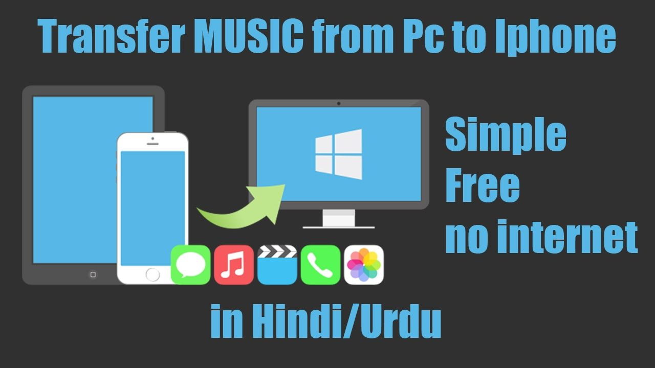 How To Transfer Music From Computer To Iphone 6 Using Itunes In Hindi Iphone Hindi Itunes