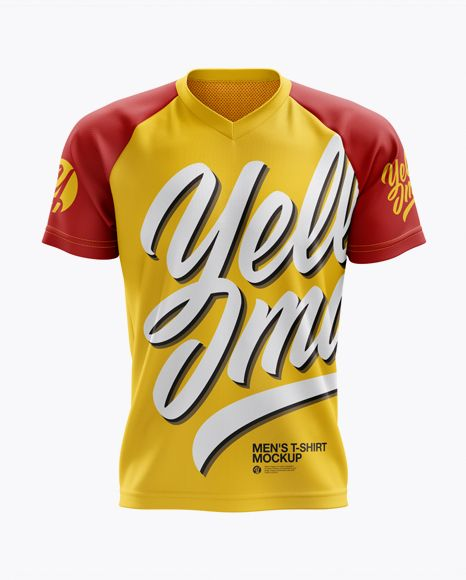 Download Mens MTB Trail Jersey (Front View) Jersey Mockup PSD File ...