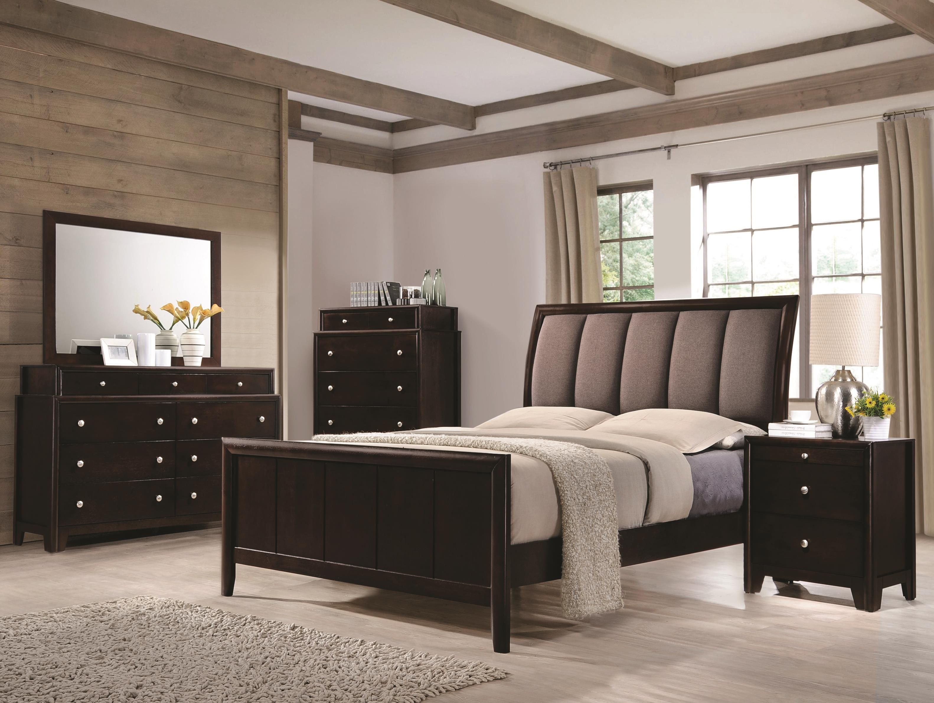Madison King Bedroom Group by Coaster at Dream Home