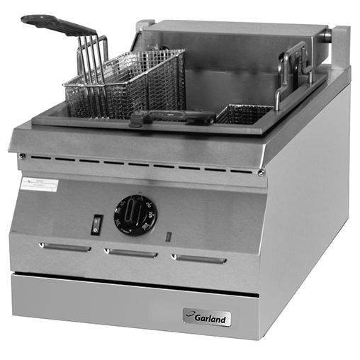 Ed Series Electric Fryers Stainless Steel Tanks Countertops