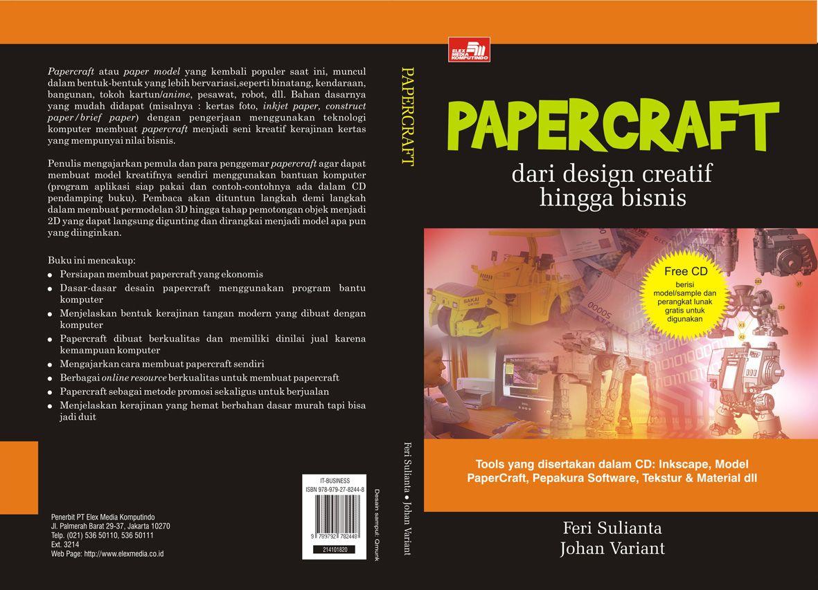 Papercraft Feri Sulianta Papercraft Kreatif Kartun