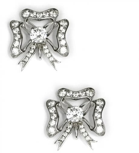 Marie | Braganzia www.braganzia.com #crystal_earrings #drop_earrings #bow_earrings#
