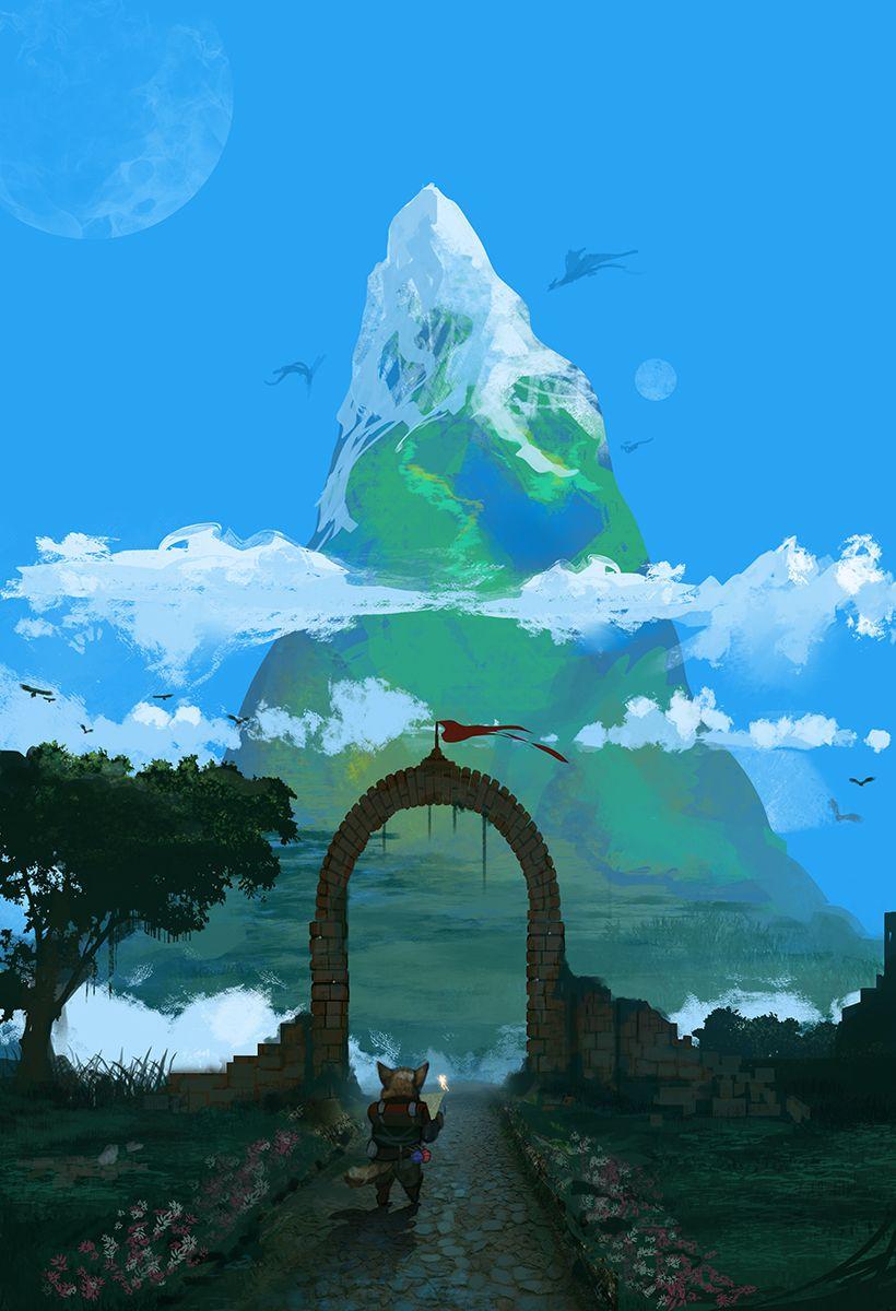Adventure Ahead by TheFearMaster on DeviantArt