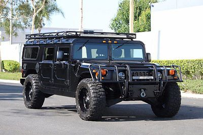 2000 Am General Hummer H1 In Matte Black Full Restoration In 2015 Must See H 1 Hummer H1 Future Concept Cars Hummer