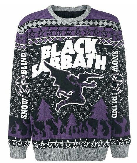 Black Sabbath Christmas Sweater.Pin By Nabil Merza On Black Sabbath Christmas Jumpers