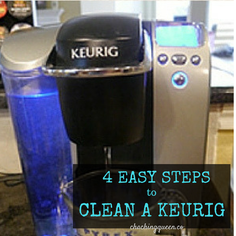 How To Clean A Keurig Coffee Maker With Vinegar Clean