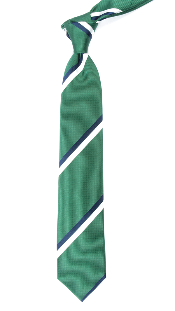 Ad Stripe - Clover Green | Ties, Bow Ties, and Pocket Squares | The Tie Bar